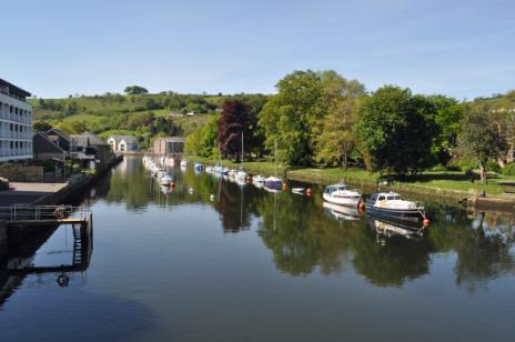 The River Dart at Totnes